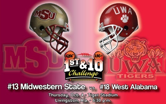 Game Day: Midwestern State vs. West Alabama (Oct. 4, 2012)