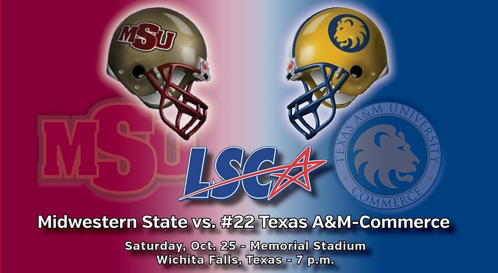 GAME DAY: Midwestern State vs. Texas A&M-Commerce (Oct. 25, 2014)