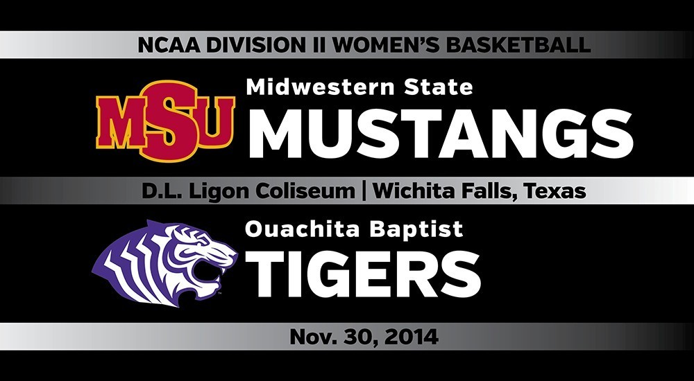 GAME DAY: Midwestern State vs. Ouachita Baptist (Nov. 30, 2014)