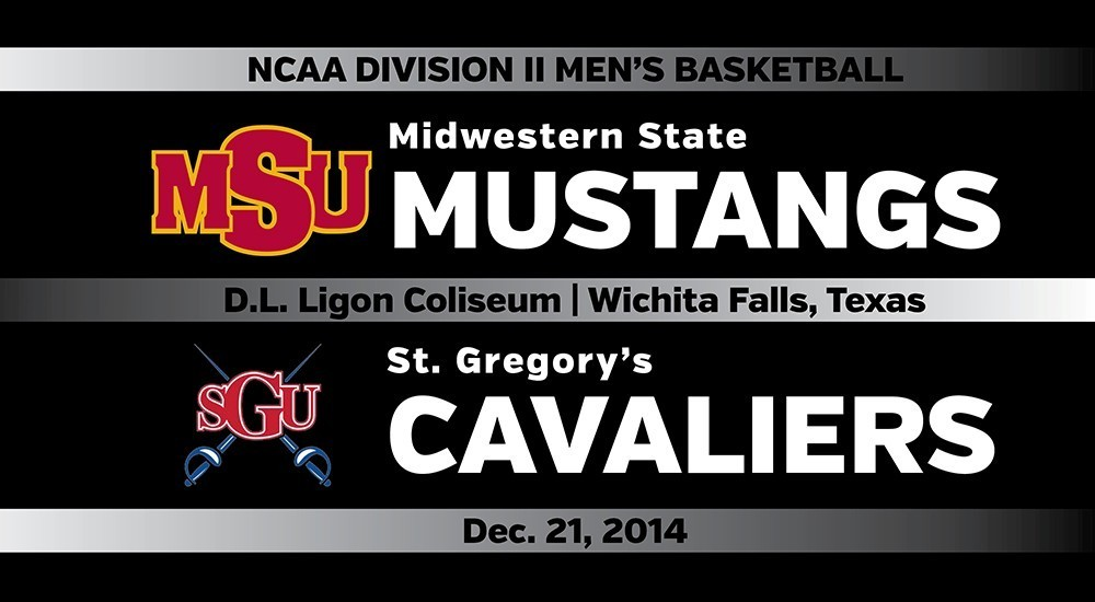 GAME DAY: Midwestern State vs. St. Gregory's (Dec. 21, 2014)