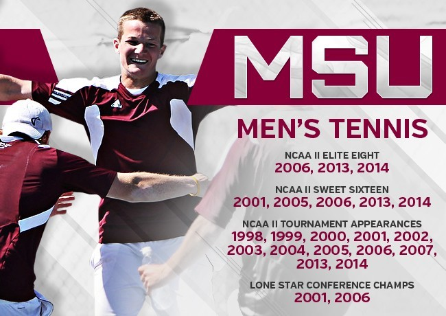 We are MSU -- Men's Tennis