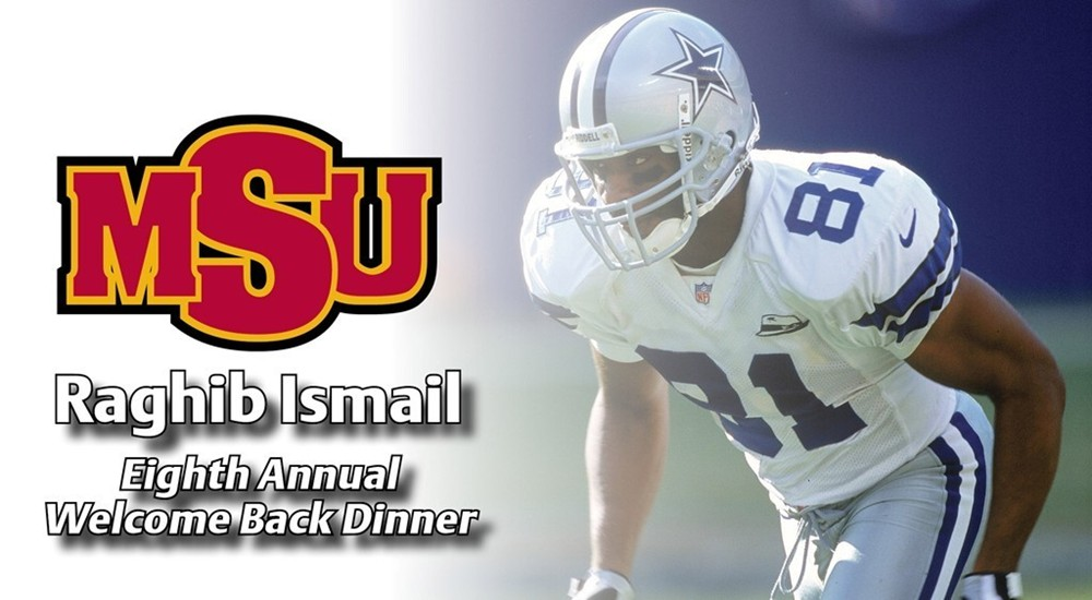 Rocket Ismail -- MSU Welcome Back Dinner
