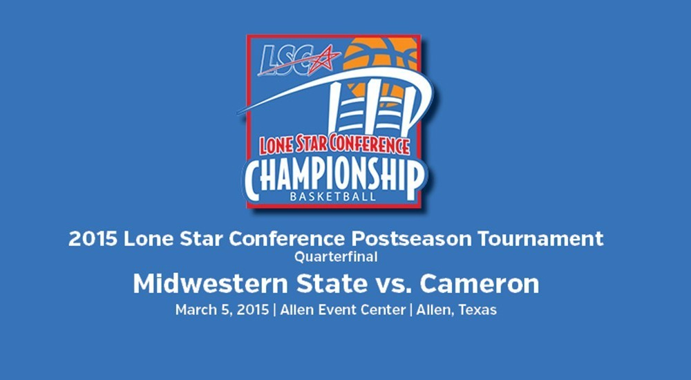 GAME DAY: Midwestern State vs. Cameron (March 5, 2015)
