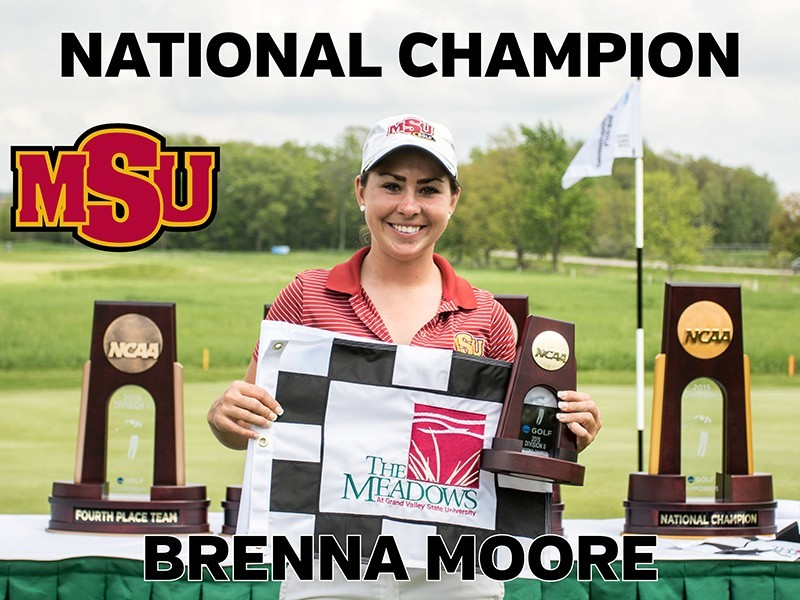 Brenna -- 2015 NCAA II National Champion