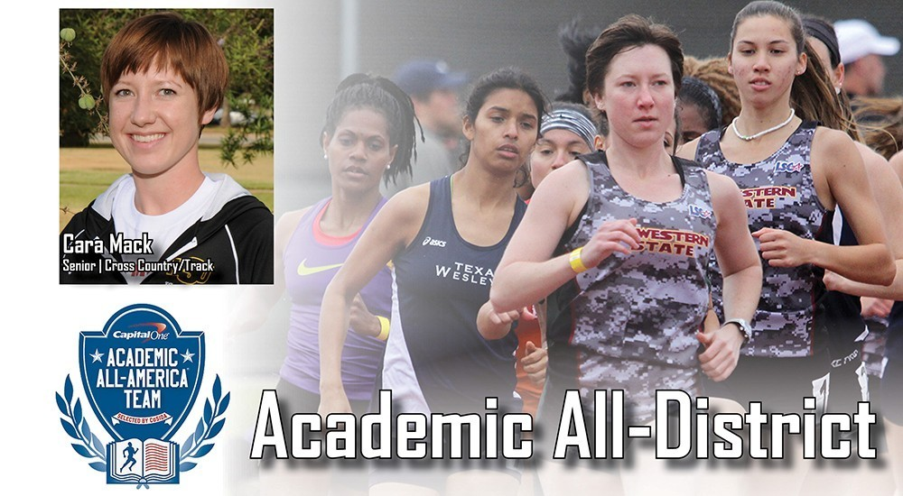 2015 Capital One Academic All-District 6 -- Cara Mack