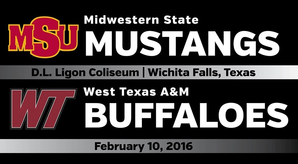 GAME DAY: Midwestern State vs. West Texas A&M (Feb. 10, 2016)