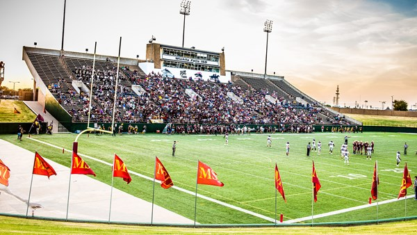 Midwestern Campus Map.Memorial Stadium Facilities Midwestern State University