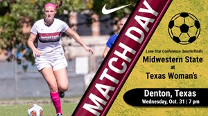 MATCH DAY: Midwestern State vs. Texas Woman's (Oct. 31, 2018)