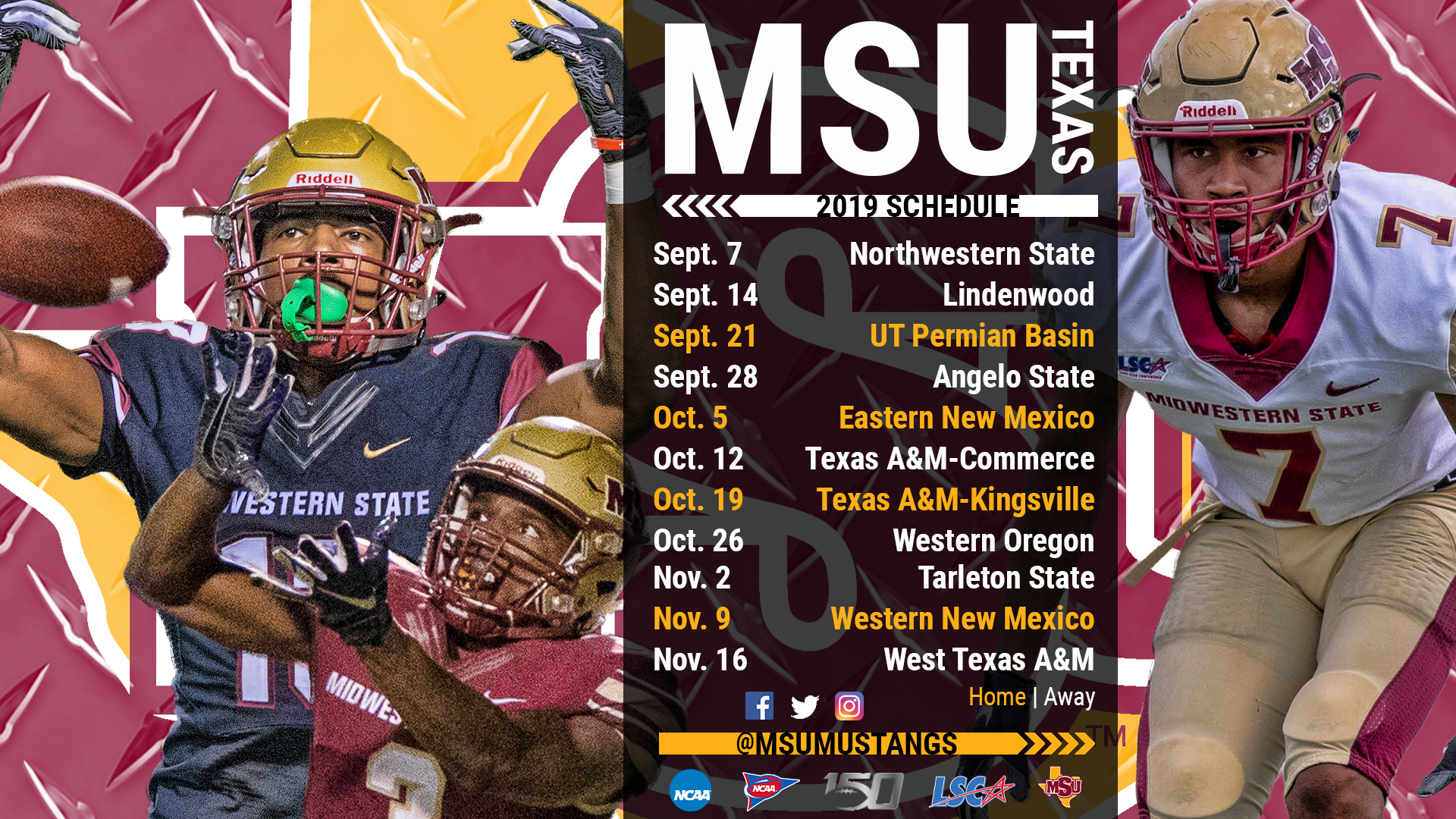 To Play An 11 Game Slate In 2019 Open Against Fcs Northwestern